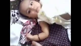 Manroop Grewal First Video Childhood