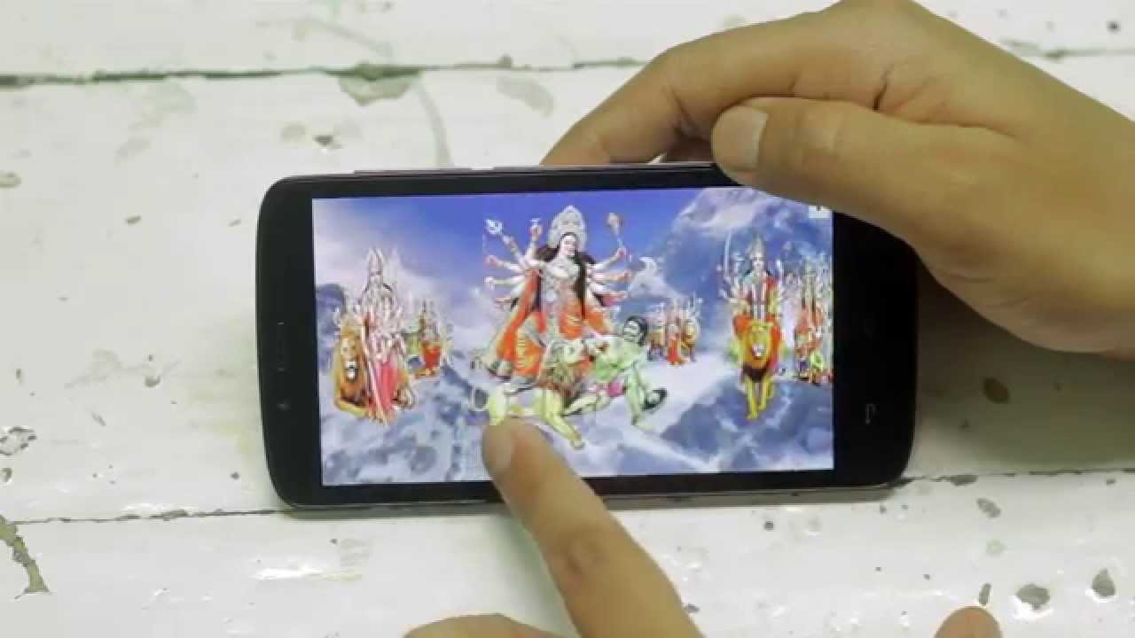 Jai Ma Durga Free Animated 4d Mobile App Live Wallpaper Youtube