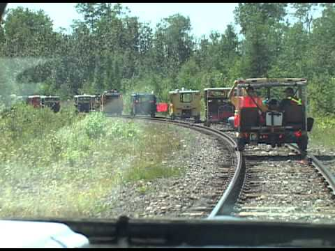 Ontario Northland Railway - Track Motorcar Excursion 2011