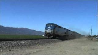 Amtrak Coast Starlight: Gonzales, California