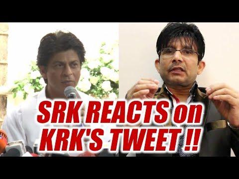 Shahrukh Khan responds to KRK's tweet on Jab Harry Met Sejal | FilmiBeat