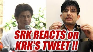 Shahrukh Khan responds to KRK's tweet on Jab Harry Met Sejal | FilmiBeat