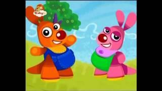 Kenny en Goorie - Aap met sinaasappels