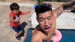 Taika Pushed Me Into The Water!