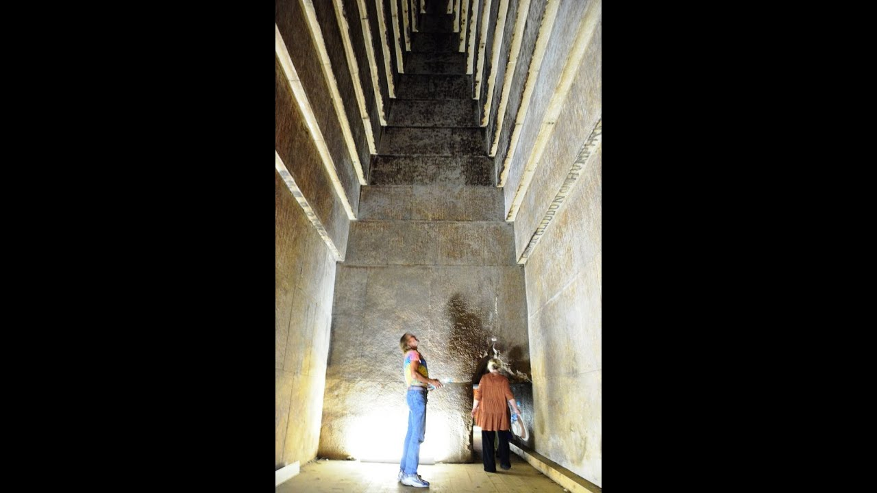 Giant Acoustic Chambers Inside The Red Pyramid In Egypt ...