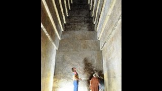 Giant Acoustic Chambers Inside The Red Pyramid In Egypt