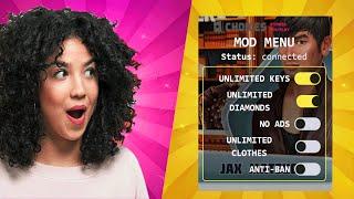 विकल्प एमओडी - मुझे इस विकल्प की कहानियों का उपयोग करके असीमित हीरे और चाबियां मिलीं जिन्हें आप एमओडी खेलते हैं: screenshot 1