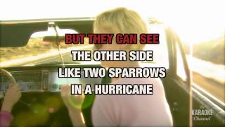 Two Sparrows In A Hurricane in the Style of