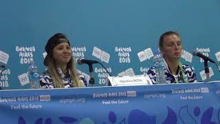 Buenos Aires 2018: Agustina Roth, Sol Ordas, Christophe Dubi, conferencia de prensa parte 3