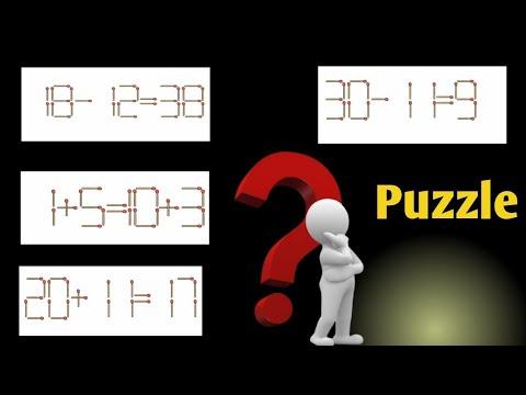 Matchstick Puzzle |