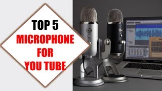 Top 5 Best Microphone for YouTube 2018 | Best Microphone for YouTube Review By Jumpy Express