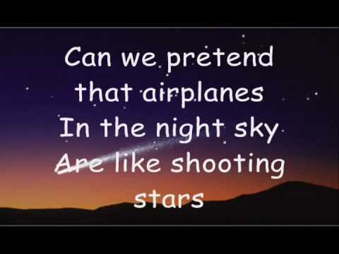 Airplanes  BOB ft Hayley Williams Lyrics