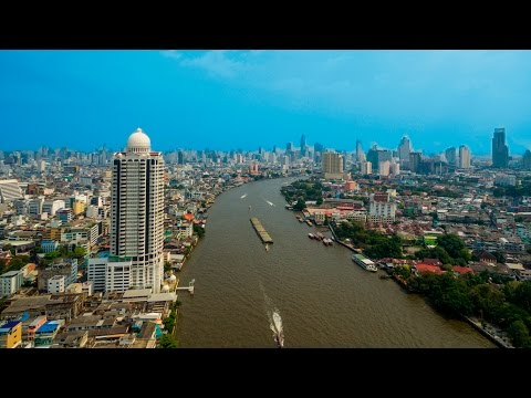 Wat Saket or Golden Mount in Bangkok. That is why we love Bangkok. Phantom 3 Advanced DJI.