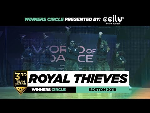 Royal Thieves | 3rd Place Team | Winners Circle | World of Dance Boston 2018 | #WODBOS18