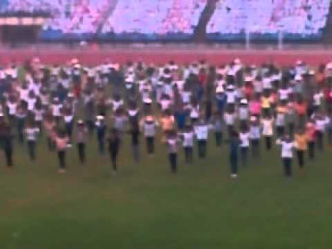 Đồng diễn Hội khỏe Phù Đổng  2012 (Tổng duyệt) P1