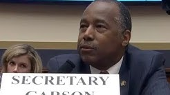 Ben Carson gets HUMILIATED in hearing with jaw-dropping gaffe