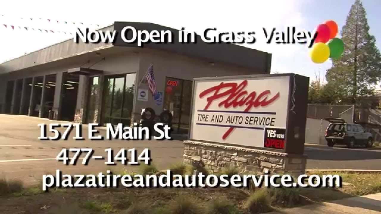 Plaza tire grass valley