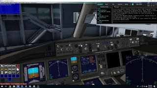 Microsoft Flight Simulator X: Plane Day Flight 2019 (1/20/2019) Part 2: Descent & Landing
