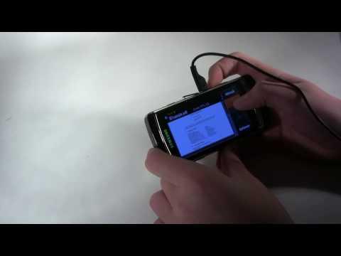 Samsung i8910 HD Teil 4 - Bedienung