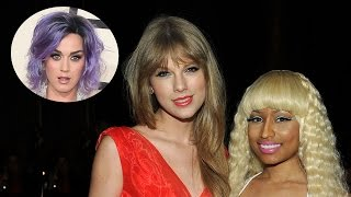 Katy Perry Responds to Taylor Swift & Nicki Minaj VMA Drama!