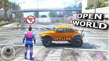 Top 10 OPEN WORLD Games for Android⁄iOS of All Time   GameZone