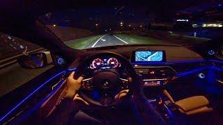 2018 BMW 6 Series GT M Sport | NIGHT DRIVE POV by AutoTopNL