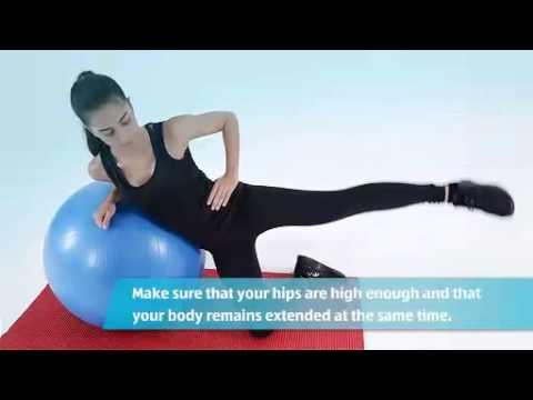 The Aldi Gym: Yoga Ball - Female Exercises