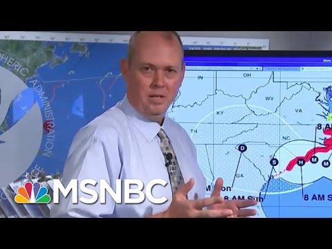 National Hurricane Center Director: The Bottom Line Is Saving Lives   Velshi & Ruhle   MSNBC