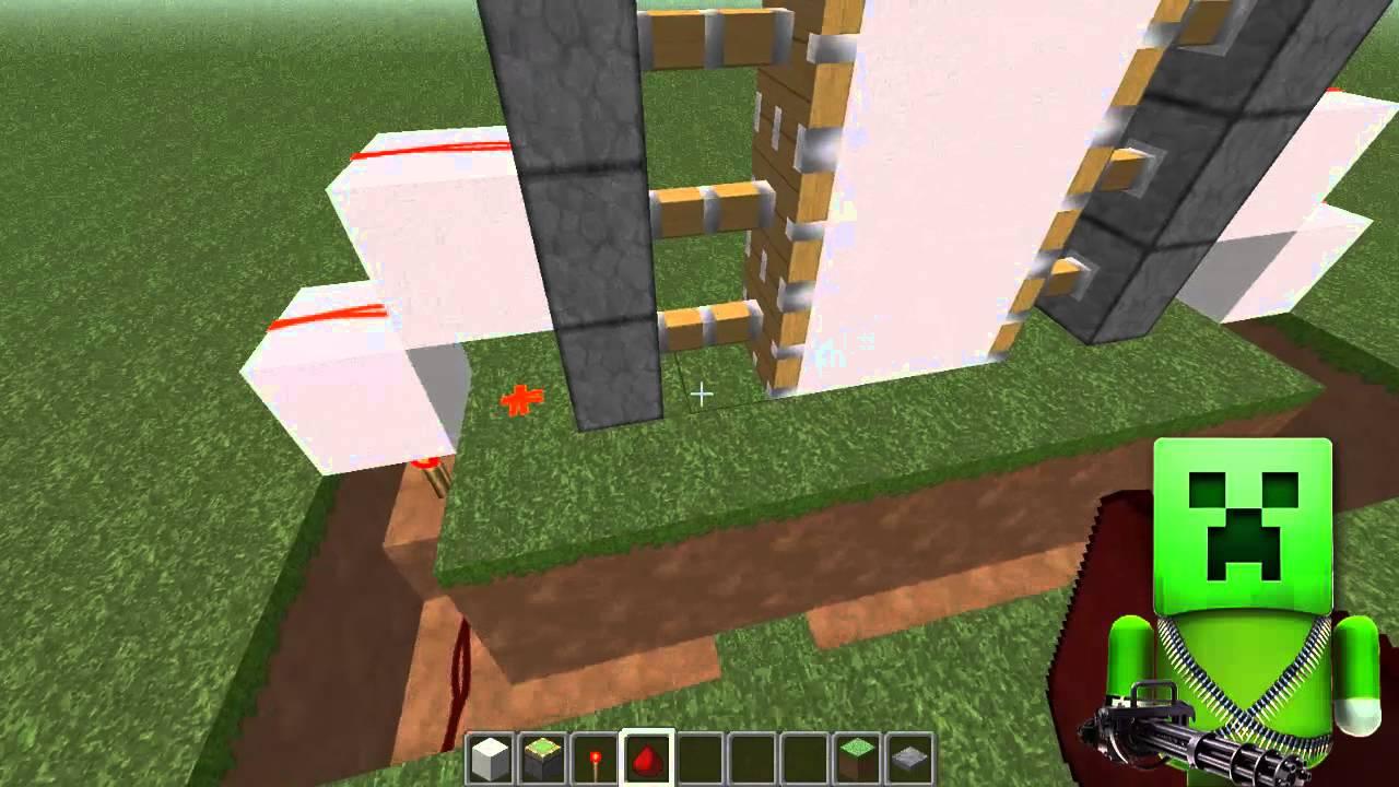 Minecraft как сделать механическую дверь фото 397