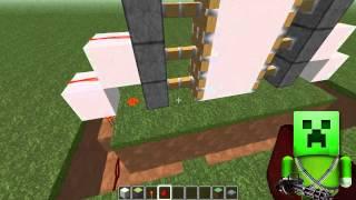 как сделать механическую дверь в minecraft 1.5.2