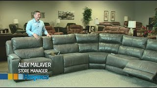 Manchester Power Reclining Sectional