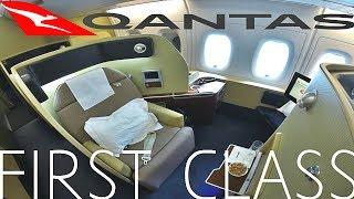 Qantas FIRST CLASS A380|LHR-DXB|QF10