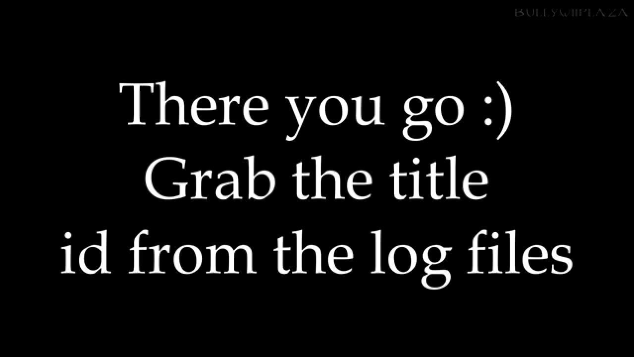 Wii U] Finding Game Title Ids [XML Dumper Tutorial] - YouTube