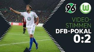 """""""Ein geiles Gefühl""""   Stimmen mit Weghorst, Arnold uvm.   Hannover 96 - VfL Wolfsburg 0:2"""