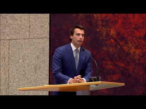 """Thierry Baudet in de Tweede Kamer over de EU: """"Als ik straks minister-president ben.."""""""