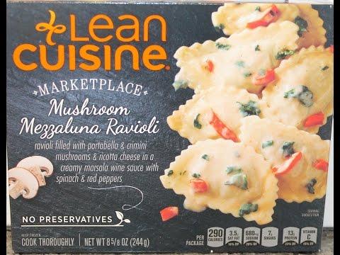 Lean Cuisine: Mushroom Mezzaluna Ravioli Review