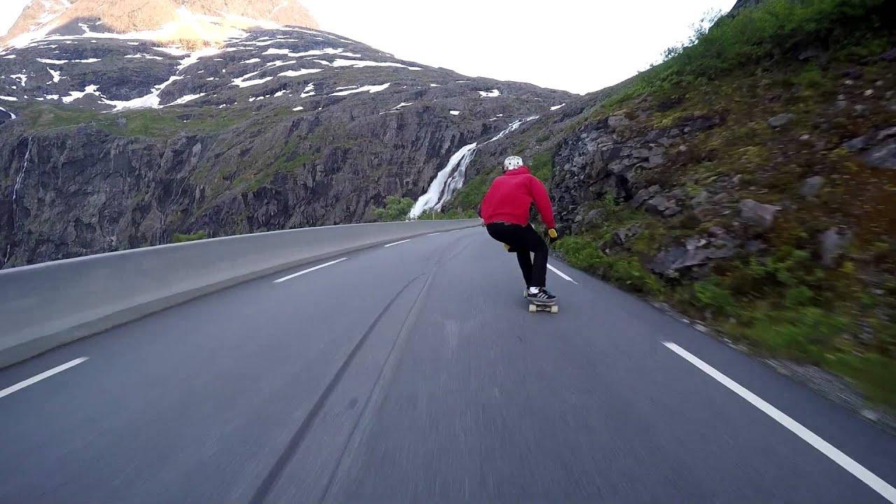Longboard in Norway
