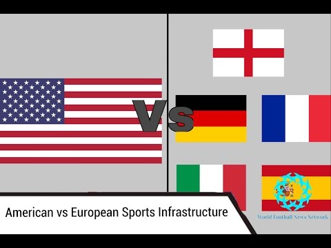 European vs American Sports Infrastructure
