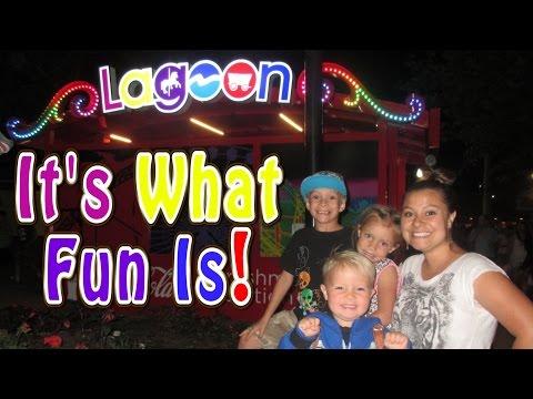 BEST KID RIDES AT LAGOON AMUSEMENT PARK!!