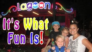 BEST KID RIDES AT LAGOON AMUSEMENT PARK!!