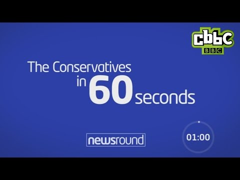 The Conservative Party in 60 seconds - CBBC Newsround
