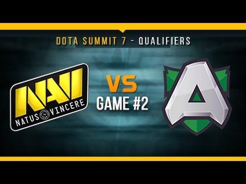 NaVi vs Alliance Game 2 - Summit 7 European Qualifier: Winners' Finals - @BreakyCPK @tsunami643