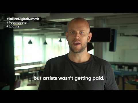 Tallinn Digital Summit keynote speech by Daniel Ek (Spotify)