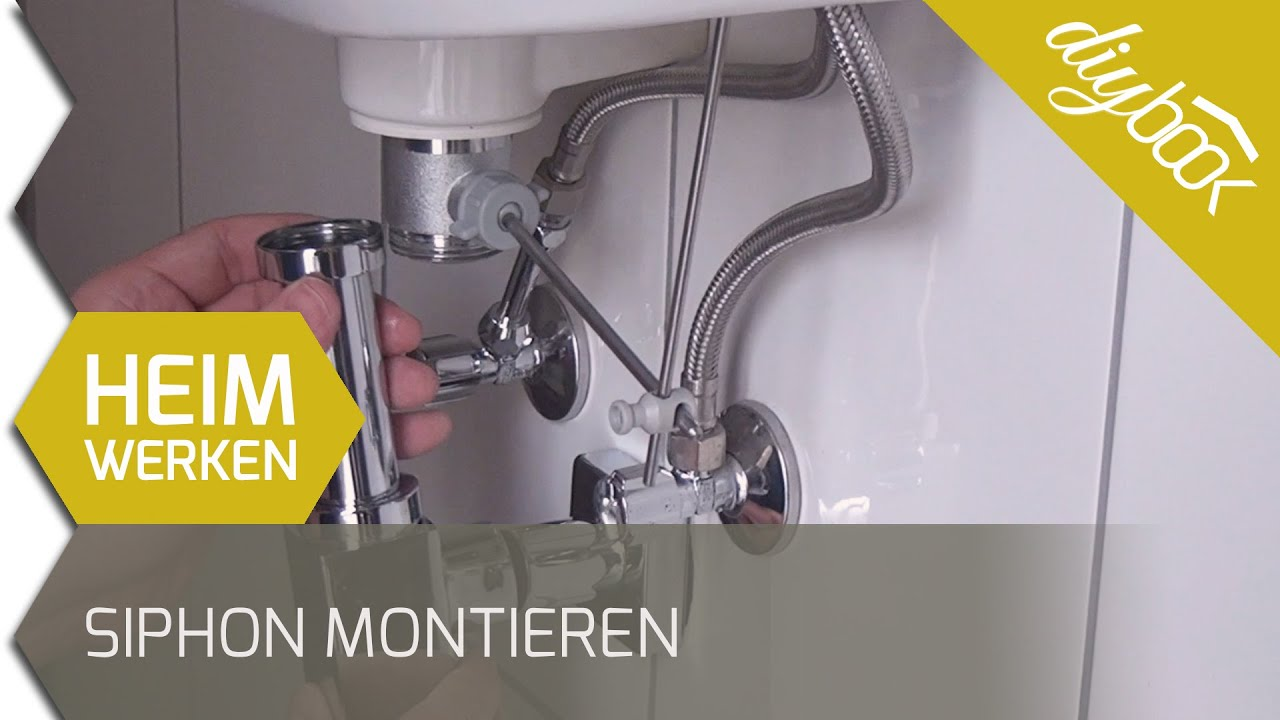 siphon küche richtig montieren | waschbecken in einbauen trendy