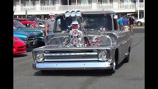 Dual Blown chevy truck ocean city,md hooters may 2015