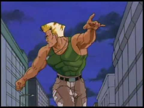 Street Fighter Cartoon Intro Youtube
