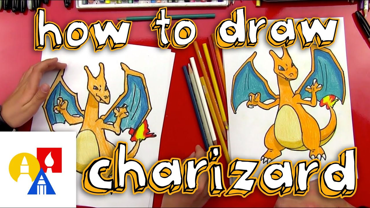 Uncategorized Kids Drawing Videos how to draw charizard youtube