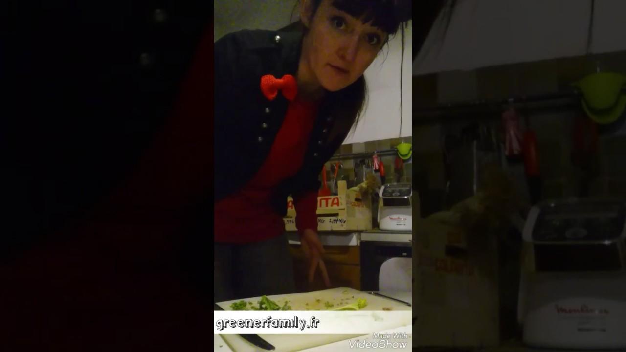 Cuisine z ro d chet de la greenerfamily le chou kale for Cuisine zero dechet
