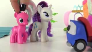 Harika oyuncaklar - My little Pony - Rarity ve Pinky Pie nasıl şatoya ulaşacaklar?