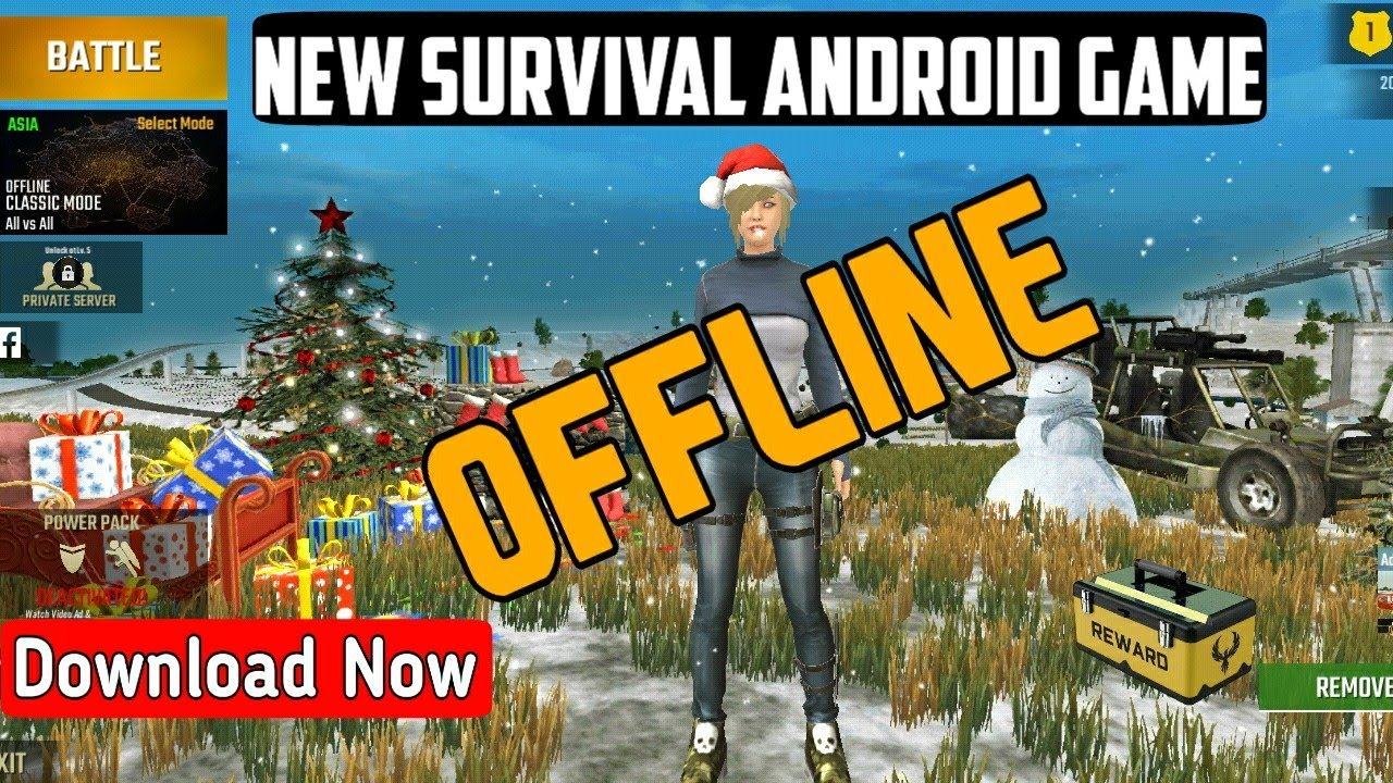 New Survival Android Offline Game    Apk+Obb    Run 512Mb, 1Gb, 2Gb Ram  Device    Download Now